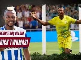 Twumasi s'aguerrira en Turquie. Twitter/GazisehirFK