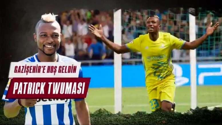 Twumasi acumulará experiencia en Turquía. Twitter/GazisehirFK