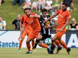 Los malaguistas acumulan cinco derrotas en pretemporada. Twitter/BorussiaMönchengladbach