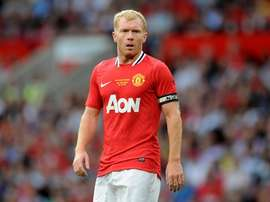 Paul Scholes spoke out against the signing of the chilean. MANUTDOFFICIAL