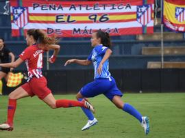 El segundo gol del Atlético fue un mazazo para el Málaga. BeSoccer