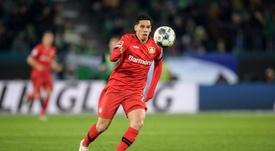 El Bayer Leverkusen cumple la semana perfecta ante el Wolfsburgo. Twitter/Bayer04_es