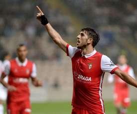 O Sp. Braga venceu na receção ao Feirense. Twitter/SCB