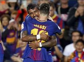 Messi a inscrit quatre but contre Eibar. GOAL