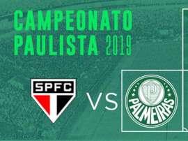 Paulistão: prováveis escalações de São Paulo e Palmeiras. Twitter @Palmeiras