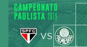 Prováveis escalações de São Paulo e Palmeiras. Twitter @Palmeiras