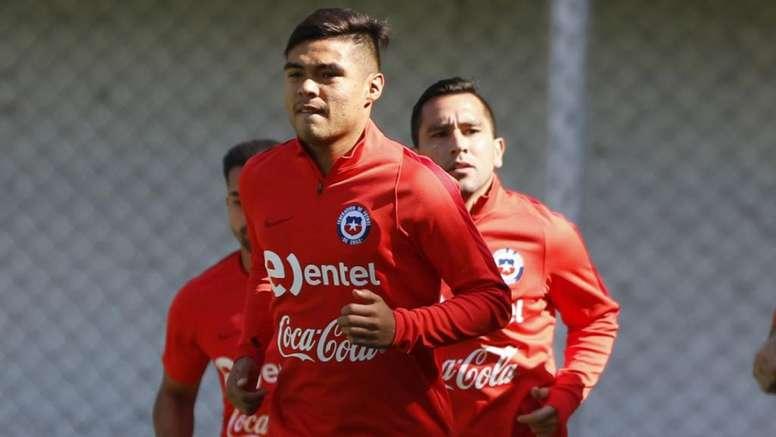 El chileno estuvo en el punto de mira del Atleti. EFE