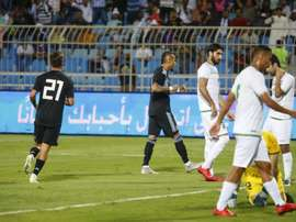 Argentina goleó a Irak. Twitter/Argentina
