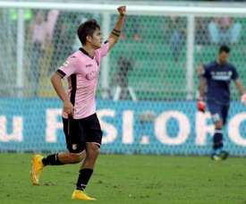 Dybala is just one of the stars who turned out for Palermo. EFE