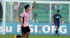 Dybala militó tres años en el Palermo. EFE