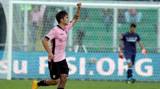 Paulo Dybala jugó para el Palermo hace mucho  tiempo. EFE