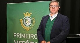 Paulo Gomes, nuevo presidente del Vitoria Setúbal. Twitter/oficialvfc