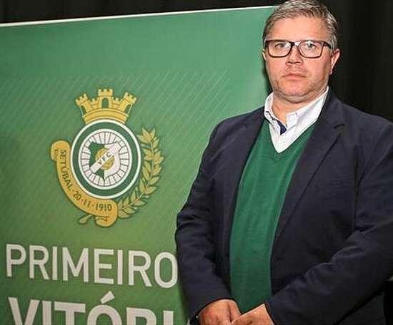 Paulo Gomes é o novo presidente do Vitória de Setúbal. Twitter/oficialvfc