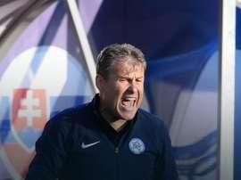 Hapal no se mordió la lengua... AFP