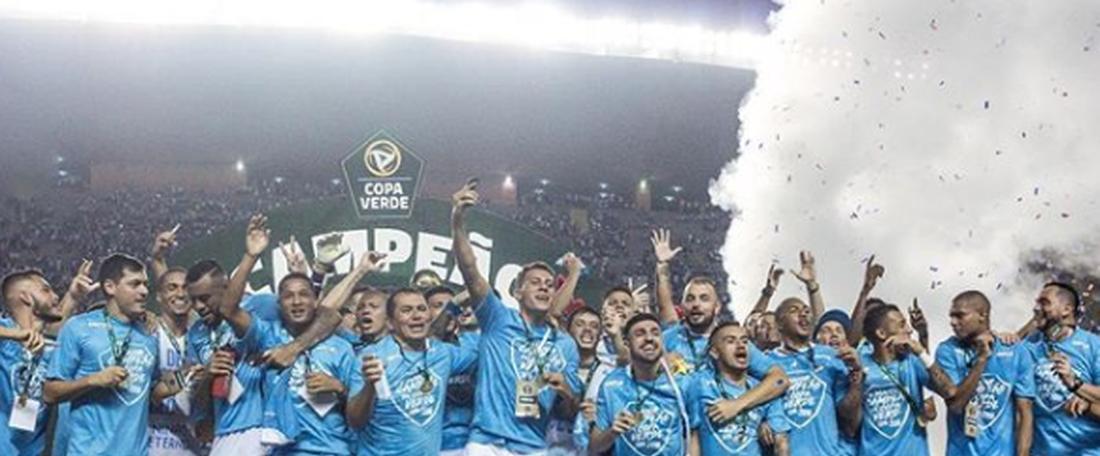 O Paysandu é bi campeão da Copa Verde. Captura Instagram oficial do Paysandu Sport Club