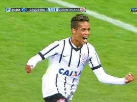 Pedrinho es una de las jóvenes promesas de Corinthians. SportTV