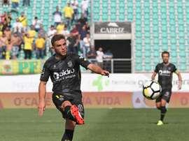 O médio de 24 anos apontou o golo que deu os três pontos aos 'castores'. Facebook/FCPF
