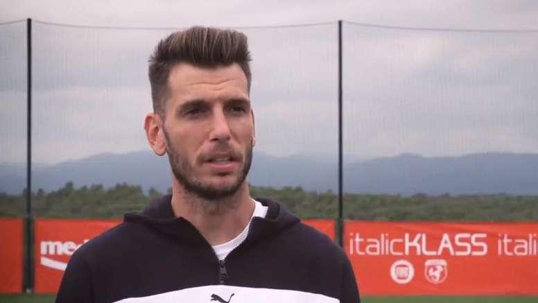 Pedro Alcalá se mostró ambicioso. Captura/GironaFC