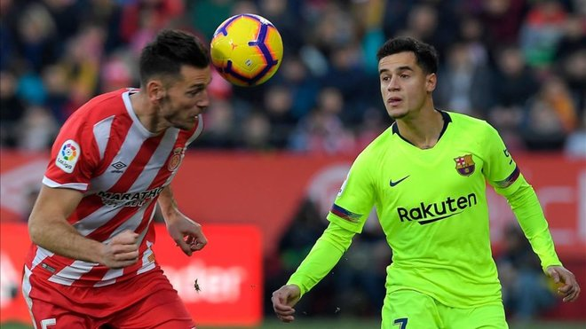 Philippe Coutinho has returned to receiving criticism in the media. AFP