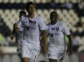 Pedro atacante Fluminense. Twitter @FluminenseFC
