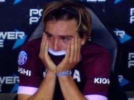 Pedro De la Vega es una de las joyas del fútbol argentino. Captura/TNTSports