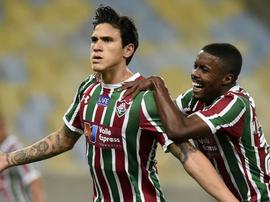 Pedro do Fluminense é o artilheiro do Brasileirão. Twitter @globoesportecom