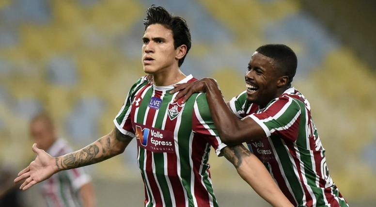 Pin Pedro do Fluminense é o artilheiro do Brasileirão. Twitter   globoesportecom f34f67b403fb4