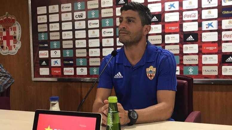 El Almería empató ante el Alcorcón. Twitter/U_D_Almeria