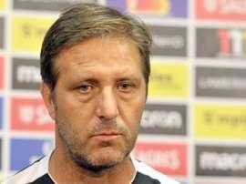 Pedro Martins voltou a 'saborear' a derrota na Europa. Facebook/V. Guimarães