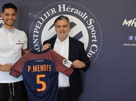 O defesa luso vai vestir uma nova camisola na Ligue 1. MHSC