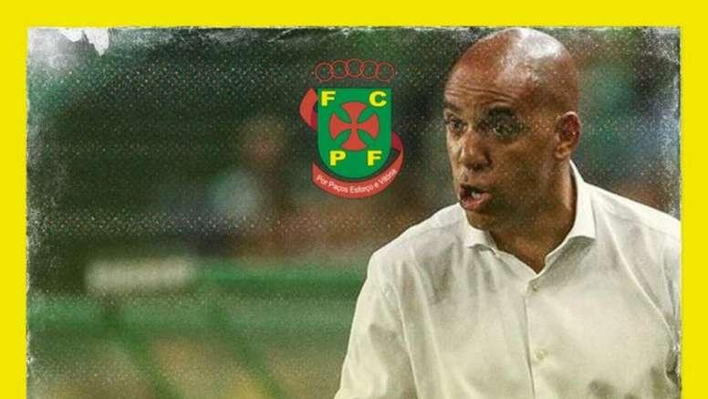 Pepa, nuevo técnico del Paços de Ferreira. FCPF