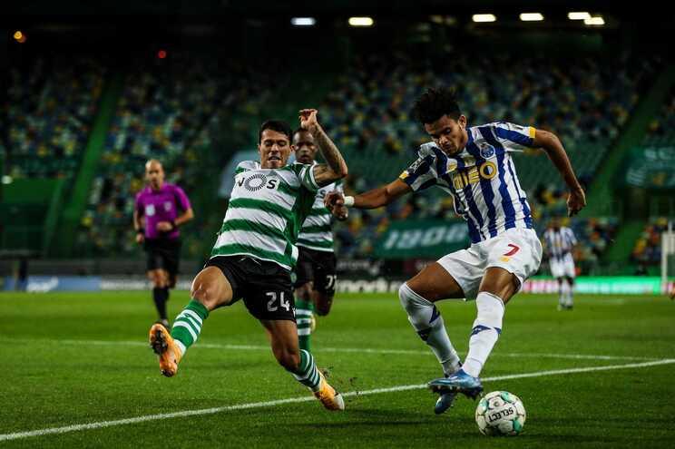 O Sporting pode ficar com Pedro Porro em definitivo. AFP