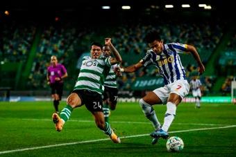 Luis Díaz lleva 30 goles con la camiseta del Oporto. AFP