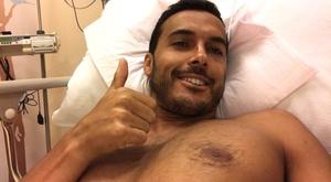 Pedro informa que se encontra bem. Twitter/PedroRodríguez