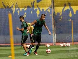 Thomas Pekhart se quedará en Gran Canaria. Twitter/UDLP_Oficial