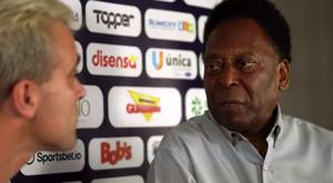 Pelé revela seu amor pelo Vasco da Gama. Youtube