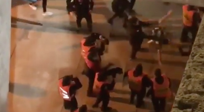 Lamentables imágenes de nuevo en Argentina. Youtube