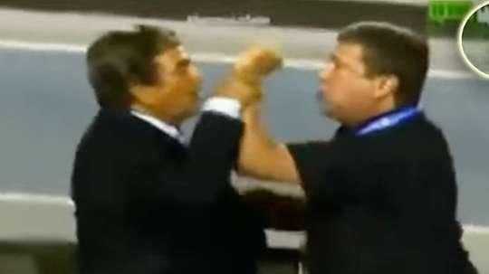 Los entrenadores de Panamá y Honduras cruzaron algo más que palabras. Youtube