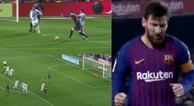 El Barcelona se puso 1-0 ante el Valladolid. Capturas/beINSports