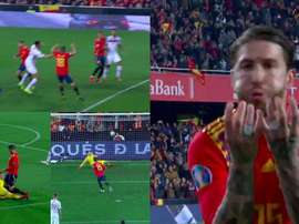 Ramos converted the match-winning penalty. Capturas/RTVE