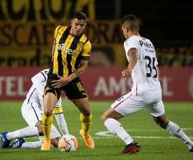 Peñarol e Athletico-PR se enfrentam pela 6º rodada da Libertadores 2020. Twitter @OficialCAP