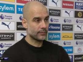 Guardiola dejó claro que si se va, es porque le han echado. SkySports