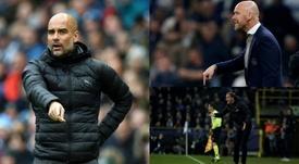 Las prioridades del Bayern para el banquillo: Guardiola, Ten Hag y Tuchel. AFP