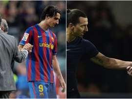 Ibrahimovic es uno de los 10 jugadores que han estado al mando de los dos técnicos. BeSoccer
