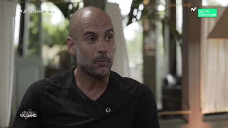 Guardiola se sincera y habla de la 'Quinta del Buitre' del Madrid. Movistar