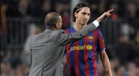 Ibra racconta il rapporto con Guardiola. EFE