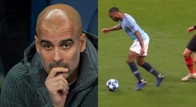 Guardiola sale al paso. EFE/Movistar
