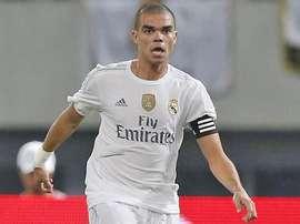 Pepe, jugador del Real Madrid. Twitter