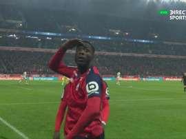Trois buts en 20 minutes font couler le PSG. Capture/DirecTVSports