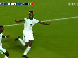 Un jeune Sénégalais suivi par le Barça. Capture/FIFATV
